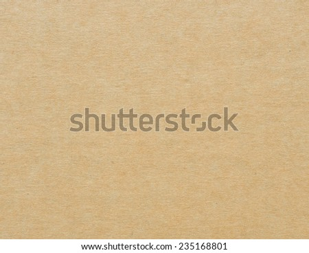 Brown paper cardboard texture background - stock photo