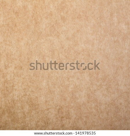 Brown Paper Texture, Background - stock photo
