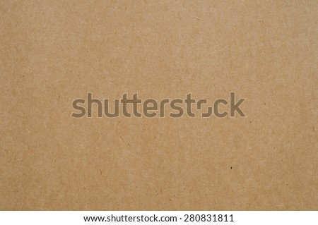 Brown paper texture background. - stock photo
