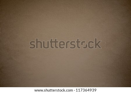 Brown paper texture for artwork - stock photo