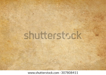 Brown paper. Vintage paper background - stock photo