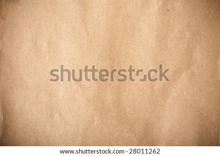 brown recycled paper detail. ecological background - stock photo