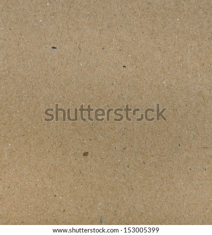 Brown recycled paper texture - stock photo