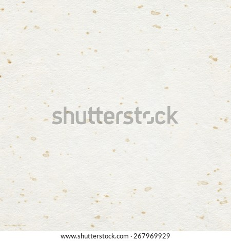 Brown recycled stained paper texture with copy space - stock photo