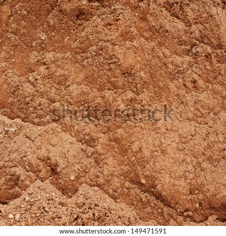 Brown sand grit texture background - stock photo