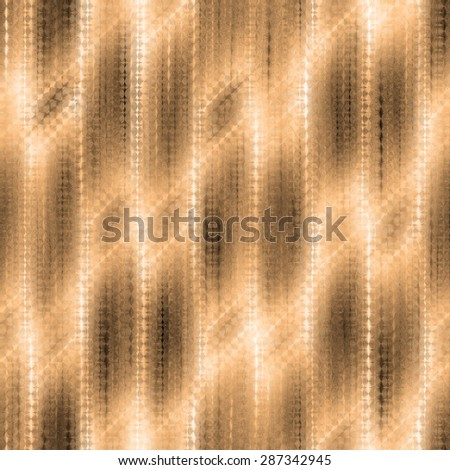brown seamless weaving texture pattern under glass - stock photo