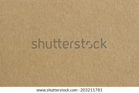 Brown sheet paper texture - stock photo