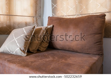 Bunch Pillows On Bed Stock Photo 491222599 - Shutterstock