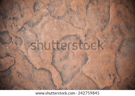 Brown stone background - stock photo