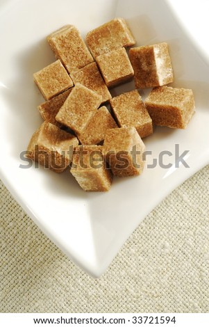brown sugar cube