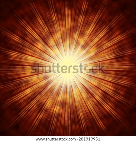Brown Sun Background Meaning Shining Beams And Rays