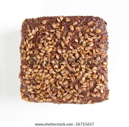 Brown sunflower bread - stock photo