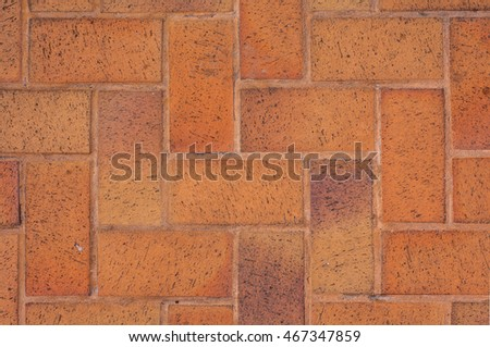 Brown Terracotta Floor Tiles Texture