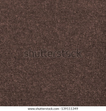 brown textile texture, can be used as background - stock photo