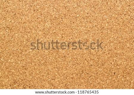 brown textured cork - closeup - stock photo