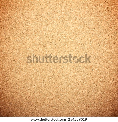 brown textured cork  closeup - stock photo
