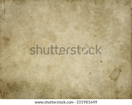Brown vintage background. Old paper texture background - stock photo