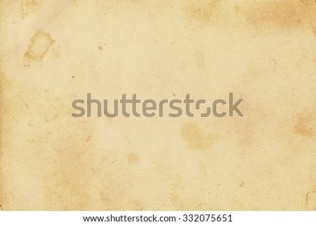 Brown vintage paper. Old photo paper texture - stock photo