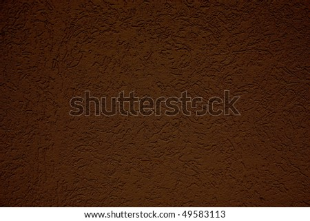 brown wall background - stock photo