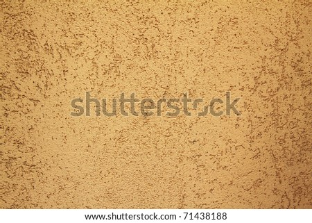 Brown wall texture or background in landscape view