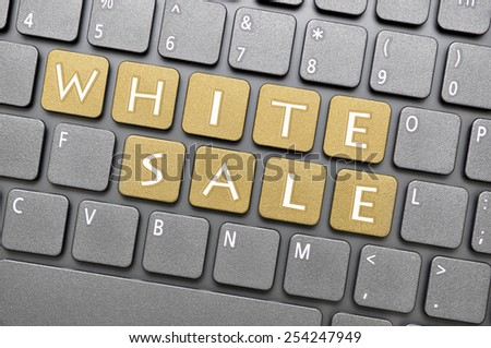 Brown white sale key on keyboard