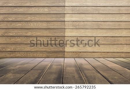 Brown wood floor texture background.
