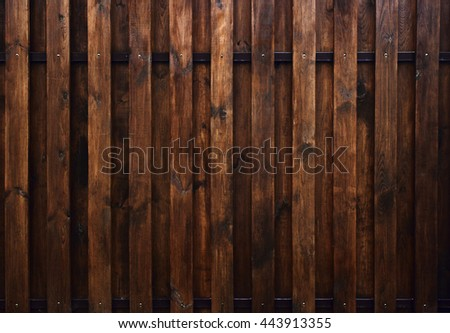 Brown wood texture. Background old panels.