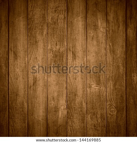 brown wooden background or color planks texture - stock photo