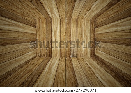 brown wooden background or sepia planks texture. - stock photo