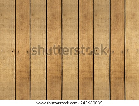 Brown wooden background texture with blank place for text two tone - stock photo