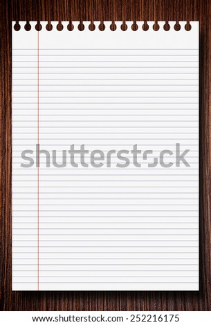brown wooden background with blank place for text - stock photo