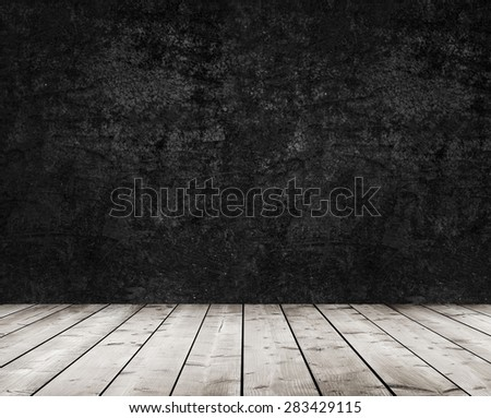 brown wooden boards  - stock photo