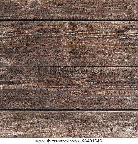 Brown wooden planks composition as a background texture - stock photo