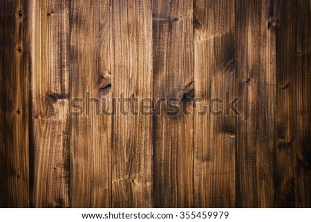 Brown wooden planks texture background - stock photo