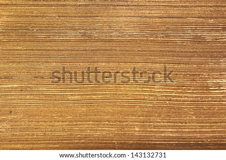 Brownish pages of old ancient book - stock photo