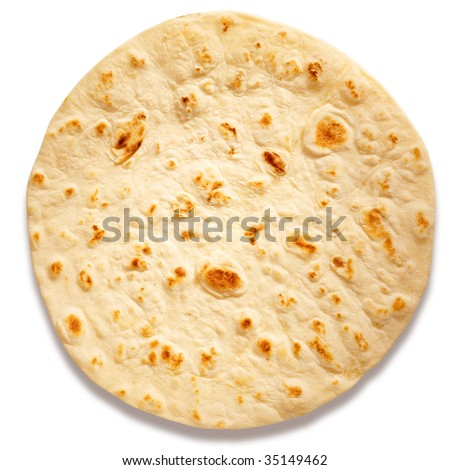 Browse of wheat flour, traditional Italian product. - stock photo