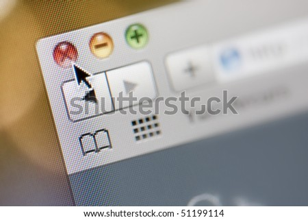 Browser - stock photo