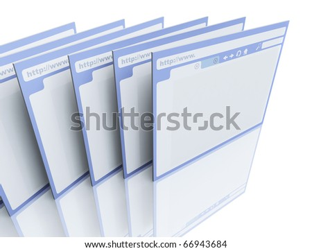 Browsers - stock photo