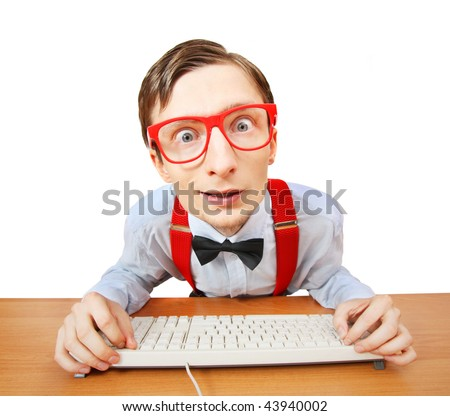 Browsing internet - stock photo