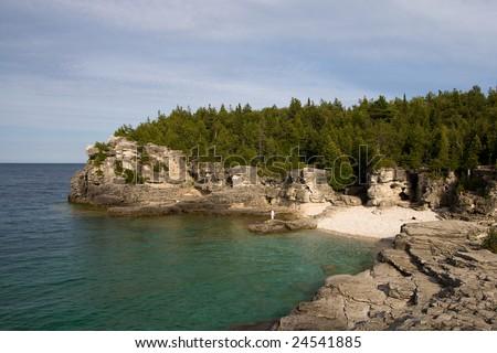 bruce peninsula - stock photo