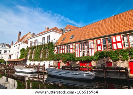 Bruges. Belgium. Walk through the old town.