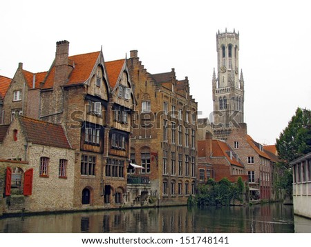 Brugge - one of the most romantic cities in Europe