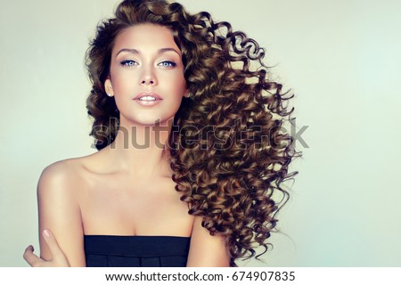 Curly Hair Stock Images Royalty Free Images Amp Vectors