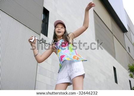Free brunette teen