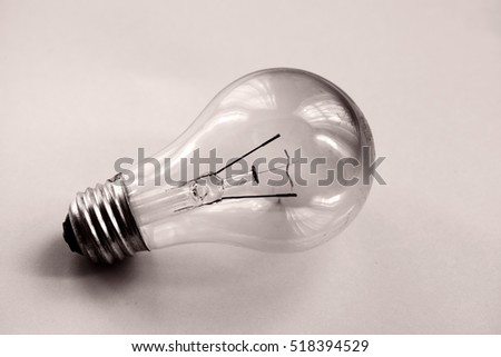 brunt out lightbulb