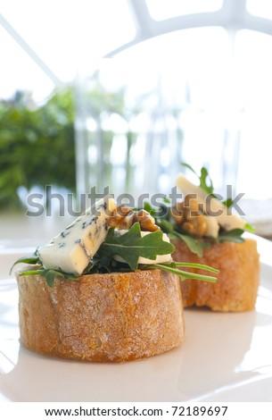 Bruschette - stock photo