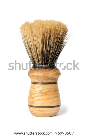 Brush isolated on white background - stock photo