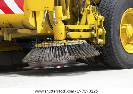 Brush Of The Sweeper