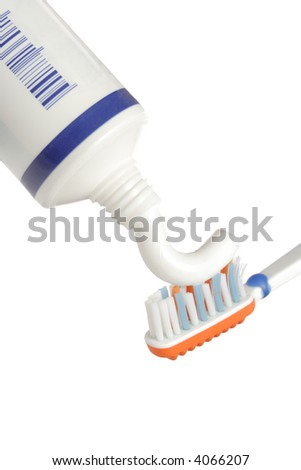Brush your teeth - stock photo