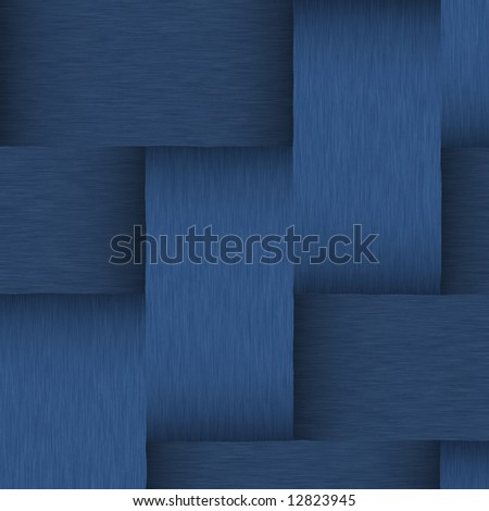 brushed dark blue metallic background with jeans look and colors - stock photo